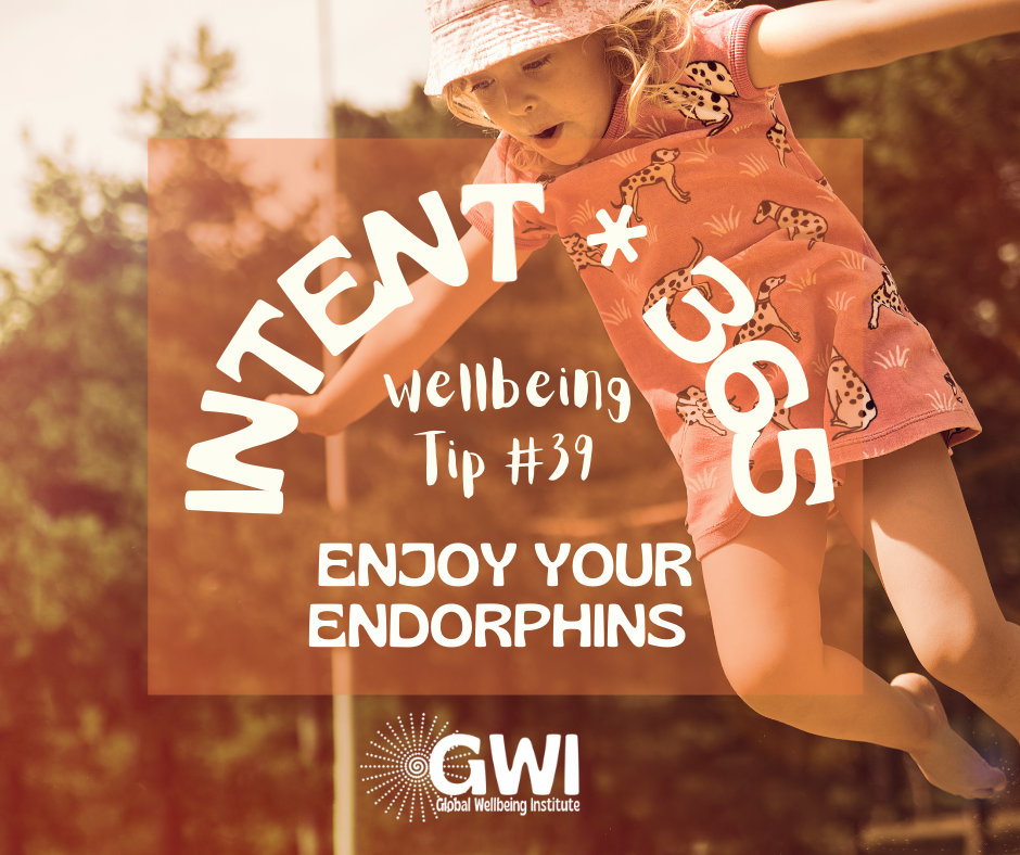 wellbeing tip #39: enjoy your endorphins from exercise