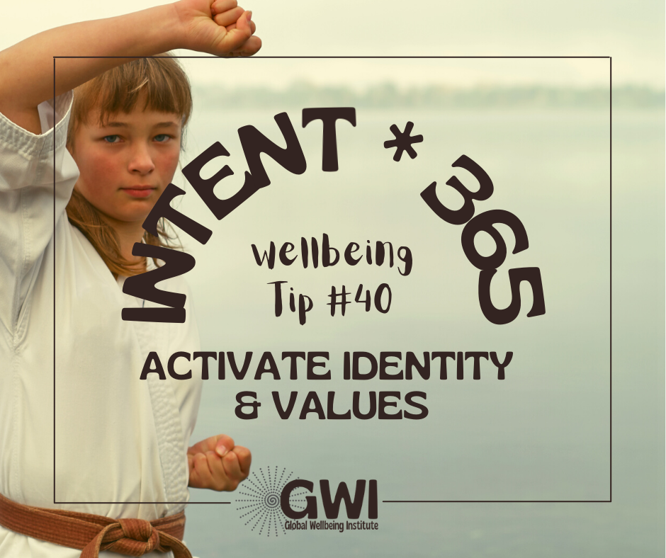 wellbeing tip #40: activate identity and values in exercise