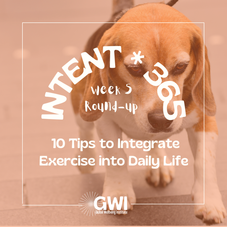10 tips to integrate exercise into your daily life