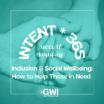 round up week 12: Inclusion & Social Wellbeing: How to Help those in Need (holding hands)