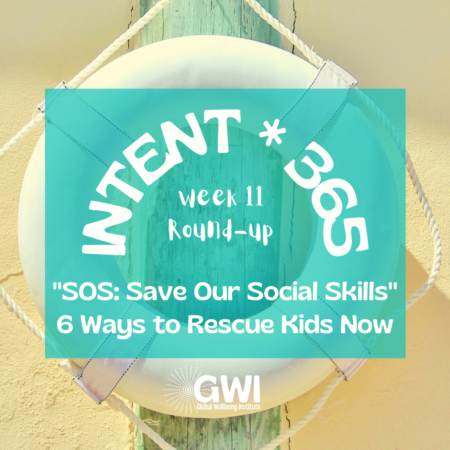 SOS - Save our social skills: 6 ways to rescue kids now (life preserver)