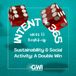 round up week 13: sustainability and social activity: a double win (red dice double sixes on turquoise table)