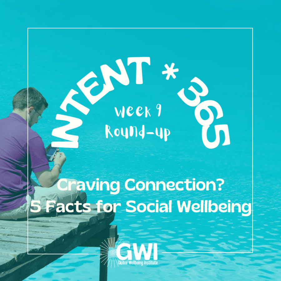 round up week 9: craving connection? 5 facts for social wellbeing (man alone on a dock)