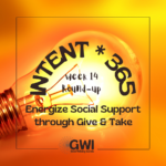 round up week 14: energize social support (lightbulb orange background)
